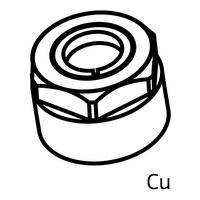 Klemmverschraubungen für Kupfer-Rohre