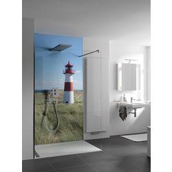 RenoDeco Wandverkleidung Aluminium - Verbundplatte Individualdruck 100 x 255 cm