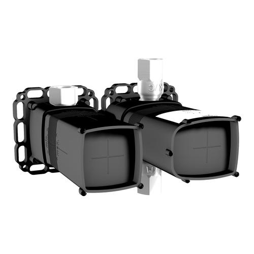 hansa up einbauk rper thermostat batterie absperrventil 44020000 design in bad. Black Bedroom Furniture Sets. Home Design Ideas