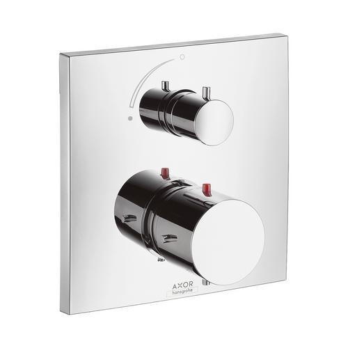 Hansgrohe Axor Starck X Thermostat Unterputz mit Absperrventil 0