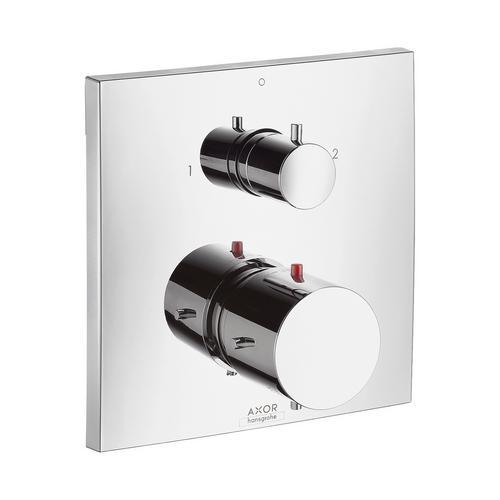 Axor Starck X Thermostat Unterputz mit Ab- und Umstellventil