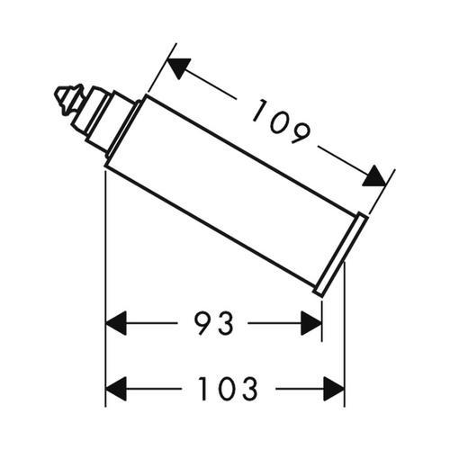 Hansgrohe Axor Starck Auslaufverlängerungs 6 cm 1