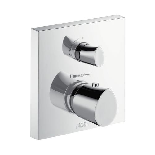 Axor Starck Organic Thermostat Unterputz mit Abstellventil