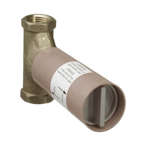 Grundkörper 130l/ min für Absperrventil Unterputz Spindel DN20