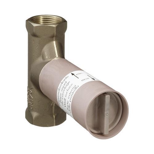 Grundkörper 80l/ min für Absperrventil Unterputz Spindel DN15
