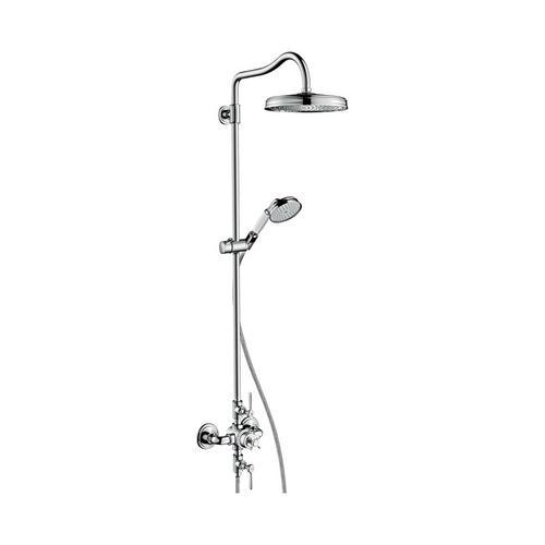 Axor Montreux Showerpipe mit Thermostat und 1jet Kopfbrause