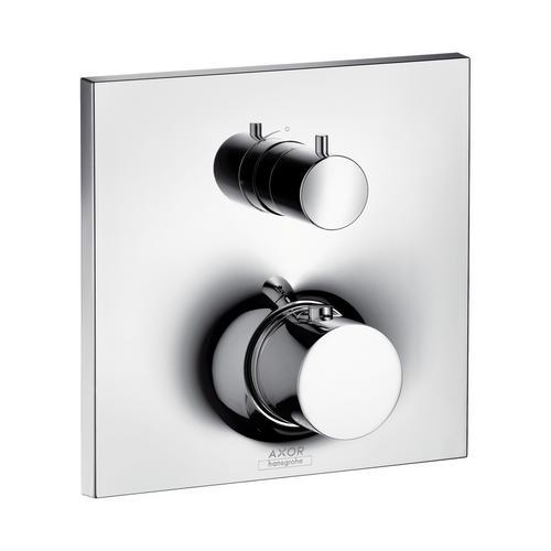 Axor Massaud Thermostat Unterputz mit Absperrventil