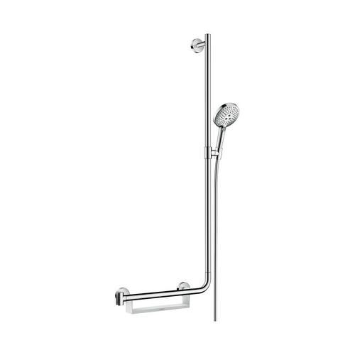 Raindance Select S 120 / Unica Comfort Brauseset 1,10 m R EcoSmart 9 l/min, chrom