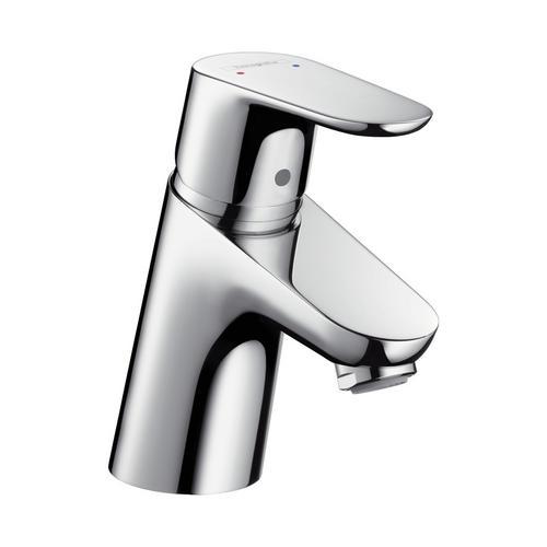 Waschtischmischer Focus chrom mit Garnitur 31730