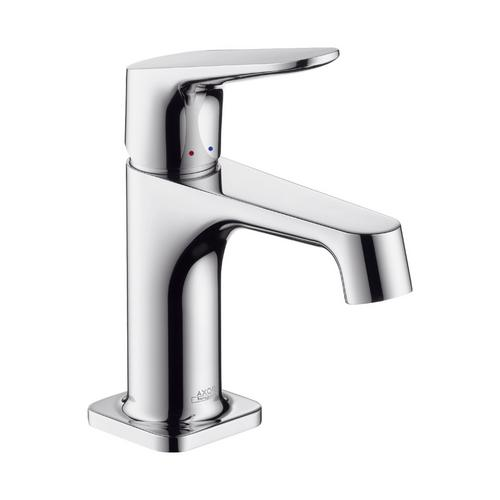 Axor Citterio M Einhebel-Waschtischmischer 70 mit Zugstangen-Ablaufgarnitur für Handwaschbecken
