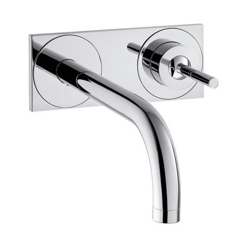Axor Uno² Einhebel-Waschtischmischer Unterputz mit Auslauf 16,5 cm und Platte für Wandmontage²