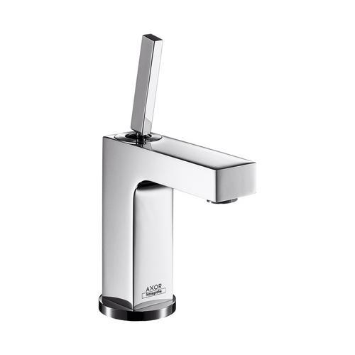 Axor Citterio Einhebel-Waschtischmischer 110 mit Zugstangen-Ablaufgarnitur