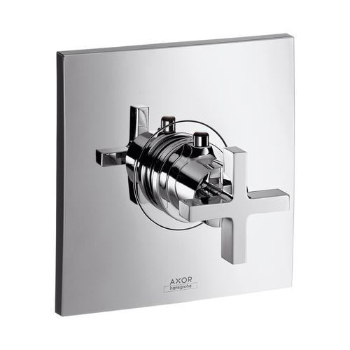 Axor Citterio Thermostat 59 l/min Highflow Unterputz mit Kreuzgriff