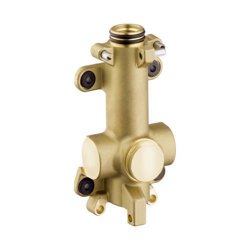 AXOR ShowerSolutions Grundkörper / Wasserführung für Ablage Unterputz 12 x 12