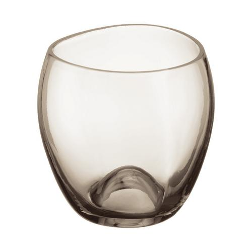 Massaud Zahnputzbecher Kristallglas mundgeblasen