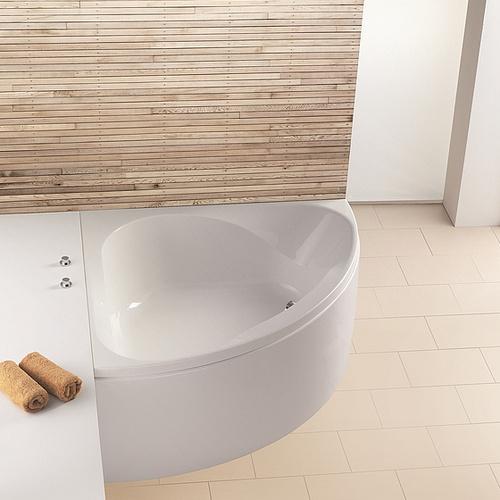 ho bw spectra eck 1400 mit loser sch rze design in bad. Black Bedroom Furniture Sets. Home Design Ideas