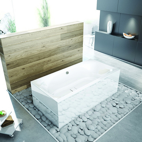 hoesch thasos rechteck badewanne einbau 2000 x 1000 x 490 mm design in bad. Black Bedroom Furniture Sets. Home Design Ideas