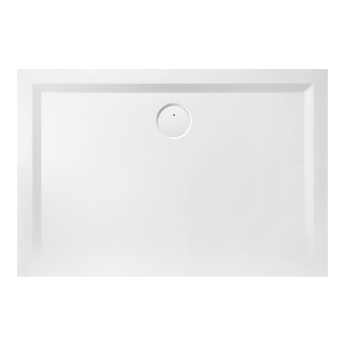 Muna Rechteck-Duschwanne ohne Antirutschoberfläche 100 x 75 x 1,5 cm