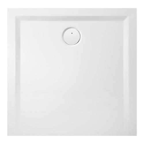 Muna Quadrat-Duschwanne ohne Antirutschoberfläche 110 x 110 x 1,5 cm