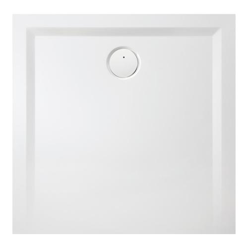 Muna Quadrat-Duschwanne ohne Antirutschoberfläche 70 x 70 x 1,5 cm
