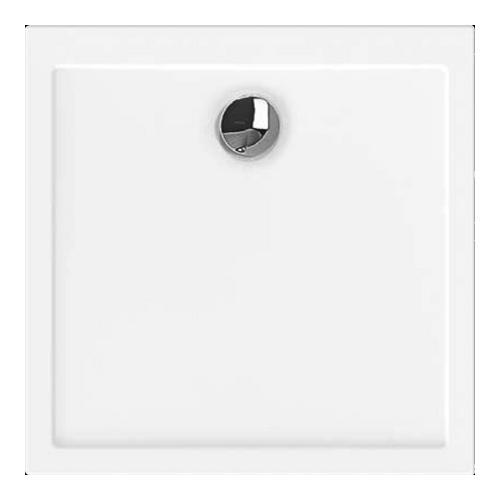 Samar Quadrat-Duschwanne ultraflach 80 x 80 x 2,5 cm