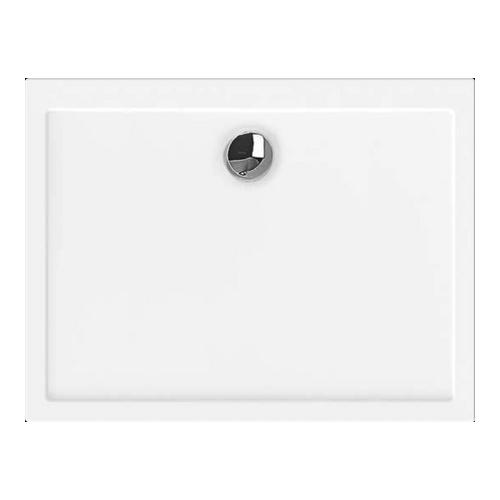 Samar Rechteck-Duschwanne ultraflach 90 x 80 x 2,5 cm
