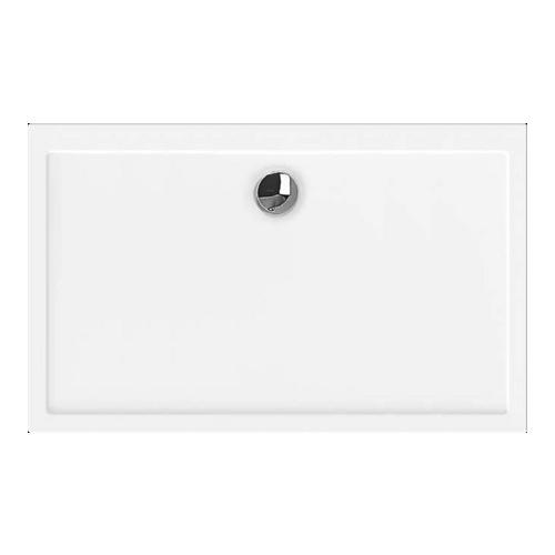 Samar Rechteck-Duschwanne ultraflach 100 x 80 x 2,5 cm