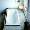 Capri Rechteck-Badewanne 170 x 75 x 42 cm