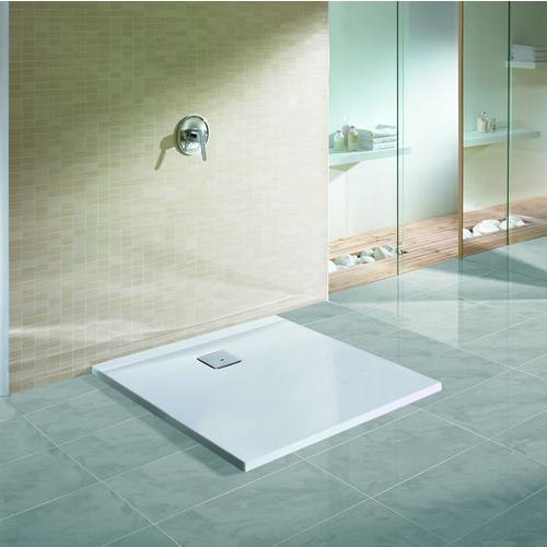 Thasos Quadrat-Duschwanne ultraflach 90 x 90 x 3 cm