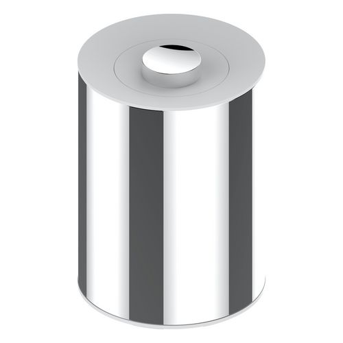 Abfallbehälter Universalartikel 04989 chrom-finish/weiß