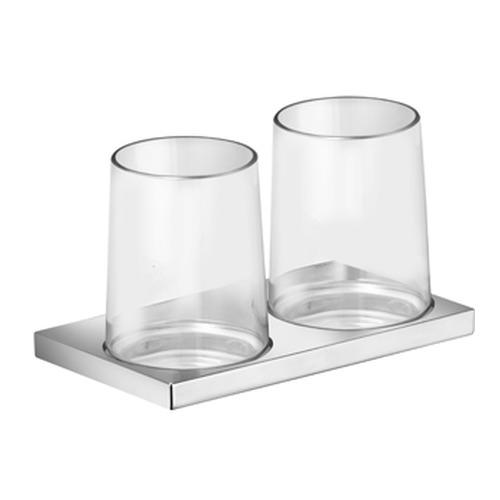 Edition 11 Doppelglashalter: komplett 18,2 x 11,4 x 10,5 cm