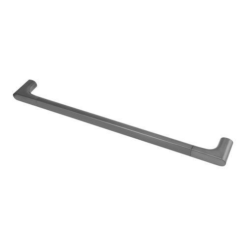 Badetuchhalter Edition 400 11501, Schwarzchrom gebürstet, 600 mm