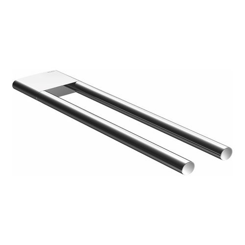 keuco edition 400 handtuchhalter 2 teilig feststehend 340 mm verchromt design in bad. Black Bedroom Furniture Sets. Home Design Ideas