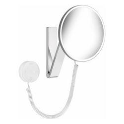 iLook_move Kosmetikspiegel, 5-fach, rund, beleuchtet, mit Kabel