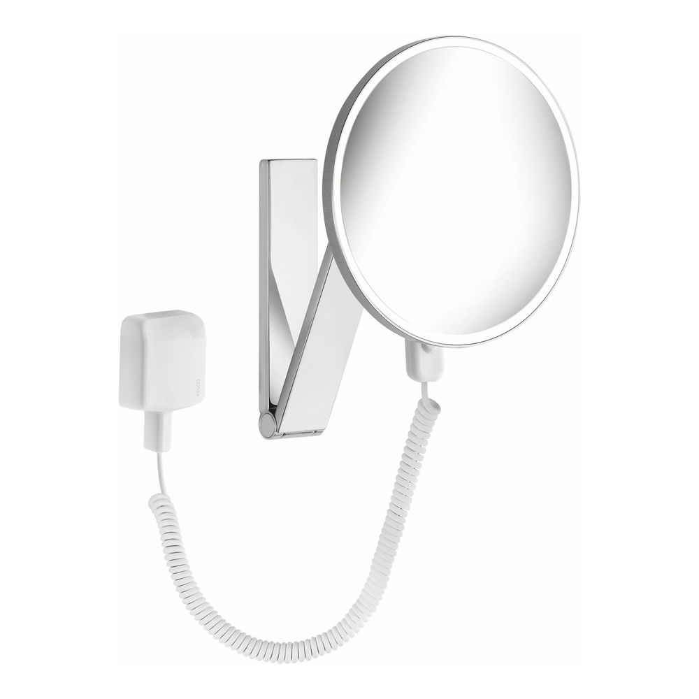 keuco ilook move kosmetikspiegel 5 fach beleuchtet steckertransformator design in bad. Black Bedroom Furniture Sets. Home Design Ideas