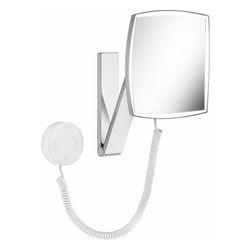 iLook_move Kosmetikspiegel, 5-fach, eckig, beleuchtet, mit Kabel
