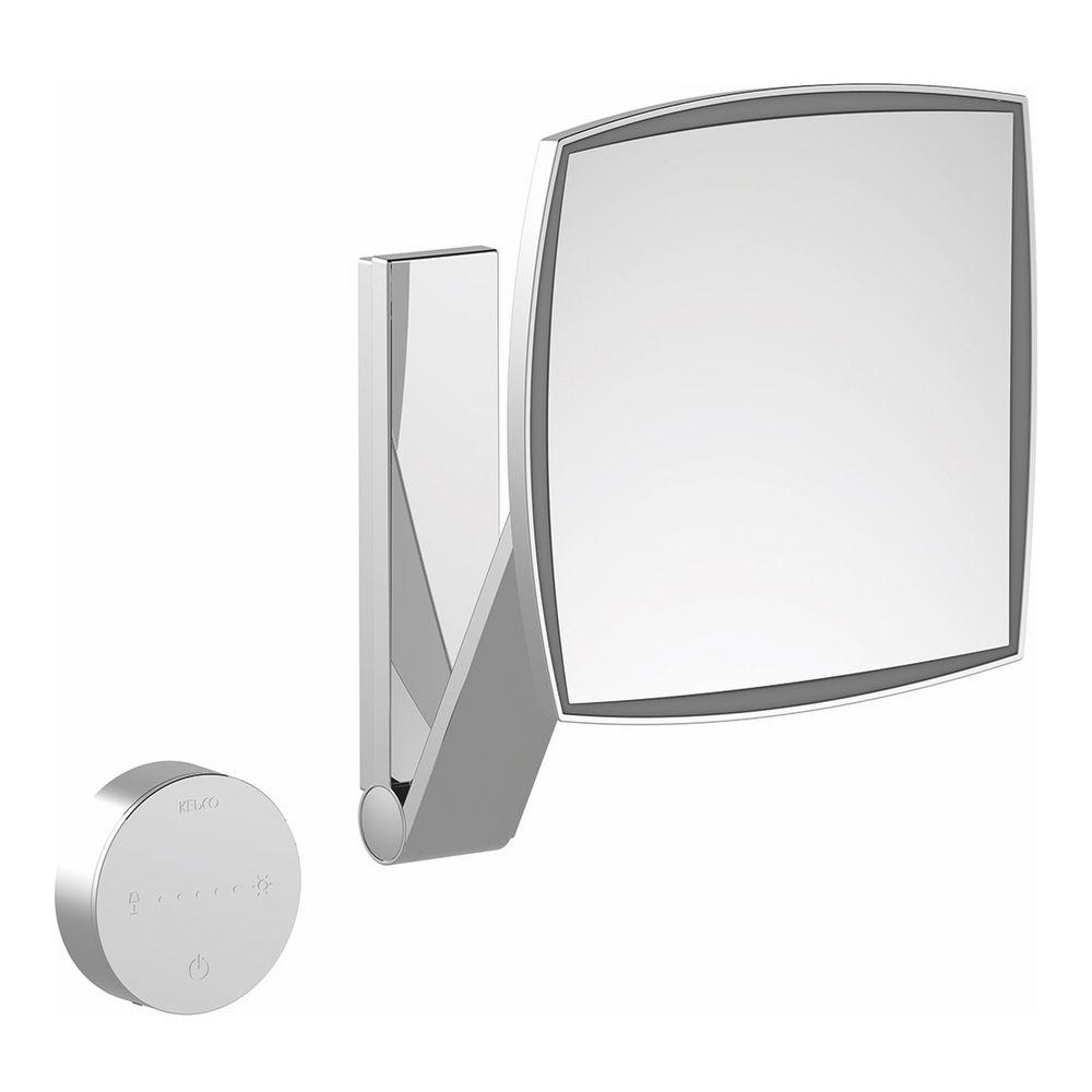 keuco ilook move kosmetikspiegel 5 fach beleuchtet eckig up glasbedienfeld design in bad. Black Bedroom Furniture Sets. Home Design Ideas