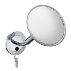 Elegance Kosmetikspiegel, 5-fach, Wandmodell, mit Zusatzstecker