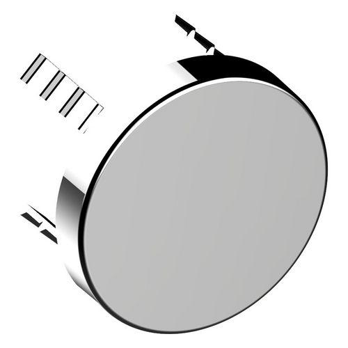 Abdeckblende Armaturenzubehör 59949, für Rohrunterbrecher, rund, verchromt