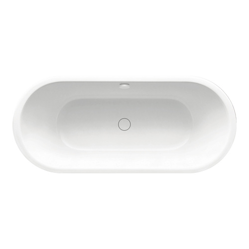 Meisterstück Centro DUO Oval 1127 freistehende Badewanne ohne Füllfunktion  170 x 75 x 47 cm