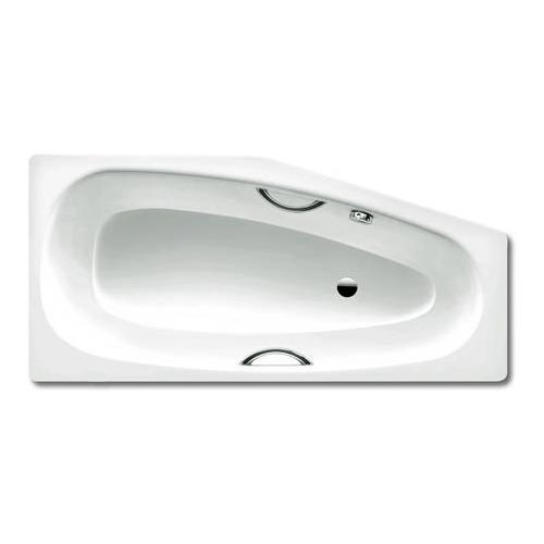 MINI STAR Links 837 Fünfeck - Badewanne, die Lösung für kleine Bäder, für Griffmontage L x T 157 x 43 cm