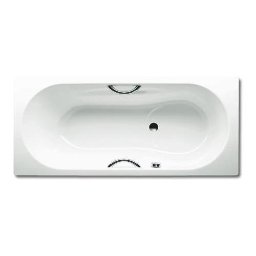 VAIO SET STAR 955 Rechteck - Badewanne mit Grifflochbohrungen + seitlichen Überlauf 170 x 75 x 43 cm