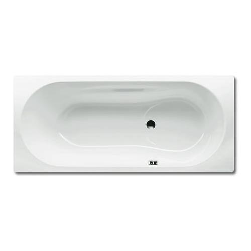 Kaldewei Badewanne Vaio Set Modell 946 180 x 80 x 43 cm, alpinweiß mit Perl-Effekt 0