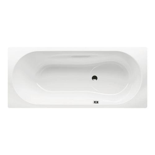 Kaldewei Badewanne Vaio Set Modell 946 180 x 80 x 43 cm, alpinweiß mit Perl-Effekt 1