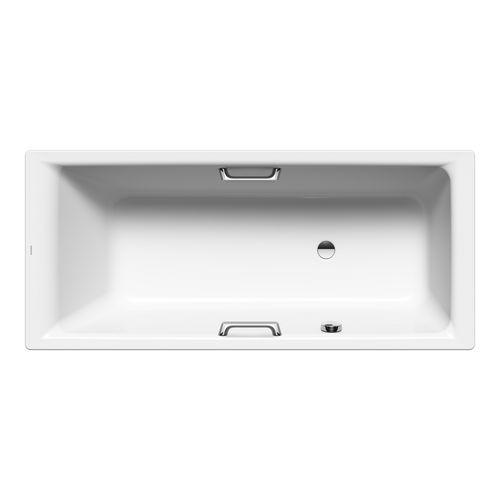 PURO STAR 686 Rechteck - Badewanne, Einsitzer mit seitlichem Überlauf 160 x 70 x 42 cm