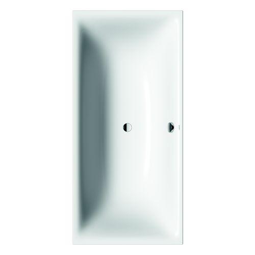 Silenio Badewanne 190 × 90 × 42,5 cm, weiß alpin mit Perleffekt