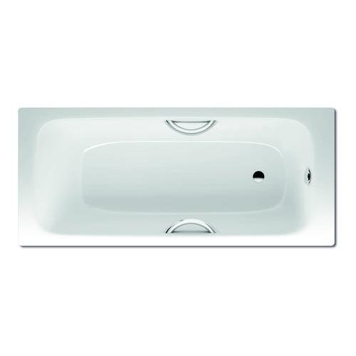 CAYONO STAR 754 Rechteck - Badewanne mit Grifflochbohrungen, Ablauf fußseitig 160 x 70 x 41 cm