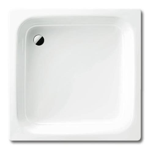SANIDUSCH Stahl-Duschwanne 550 80 x 100 x 14 cm 440600010001