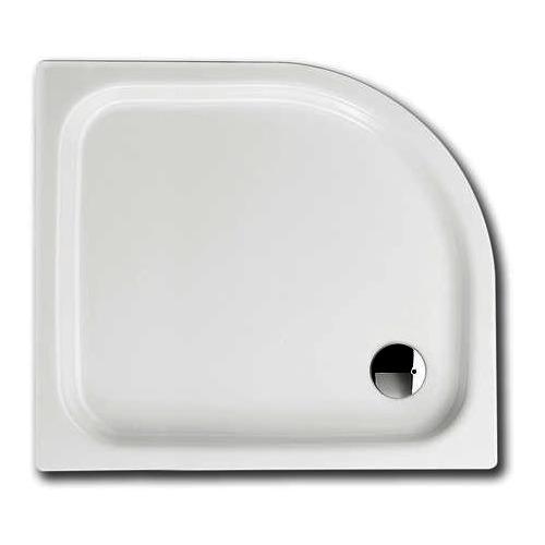 ZIRKON Duschwanne 501-2 75 x 90 x 3,5 cm, inkl. Träger