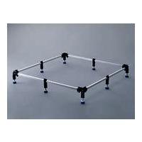 Duschwannen-Fuß-Rahmen FR 5300 für flache / superflache Duschwannen bis max.120 x 120 cm